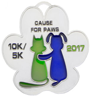 10k Custom Race Medal