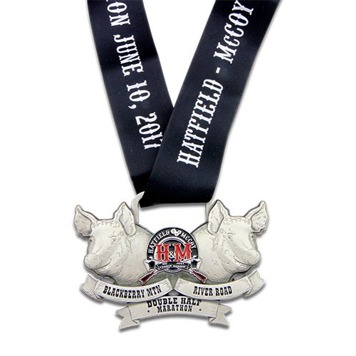 Hatfield McCoy Double Half Marathon