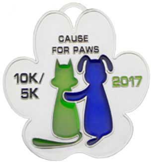 10k Custom Race Medal